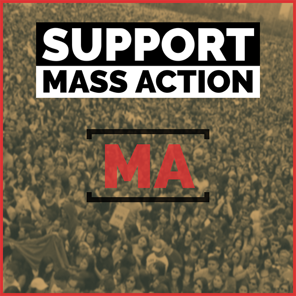 Become a patron of MASS ACTION